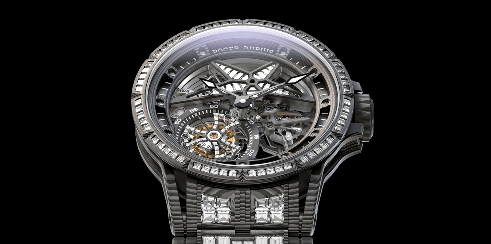 Roger Dubuis Excalibur Spider Ultimate Carbon Face
