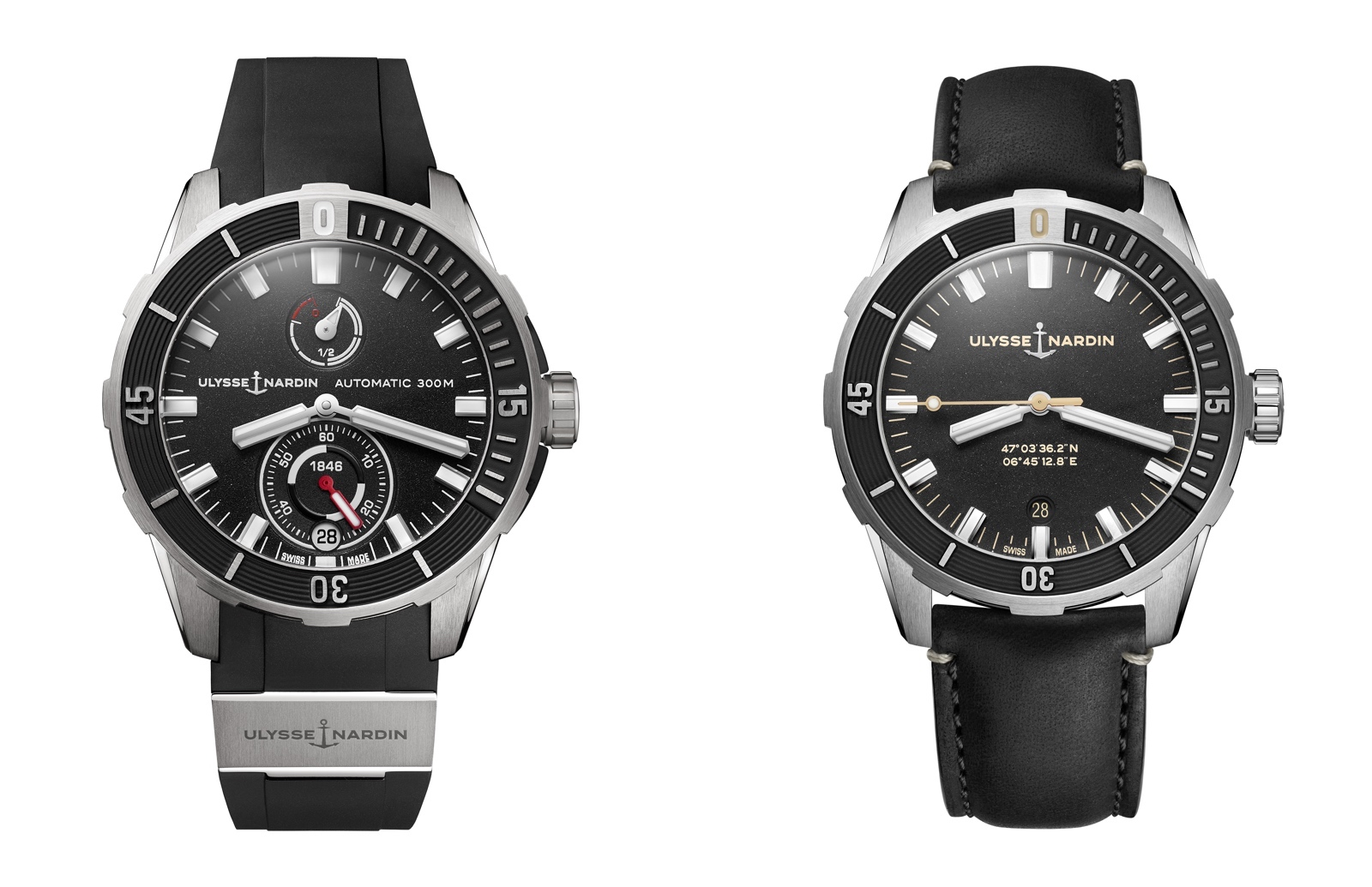 Ulysse Nardin Diver Chronometer vs Diver Chronometer 42