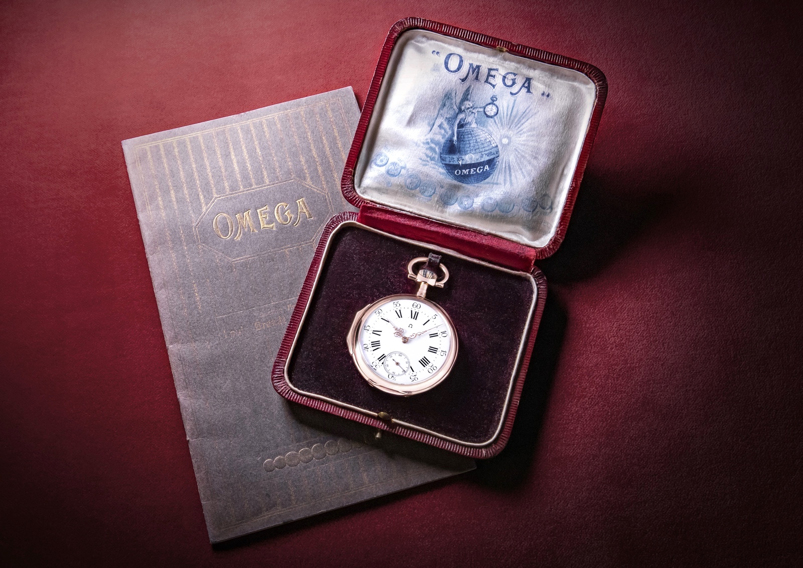 Calibre Omega 125 Aniversario Reloj de Bolsillo 1