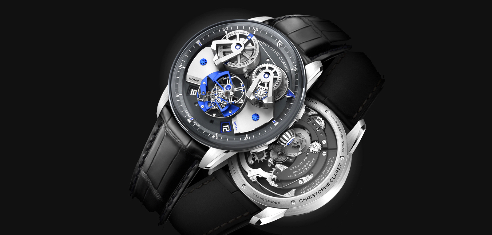 Christophe Claret Angelico SIHH 2019 Cover