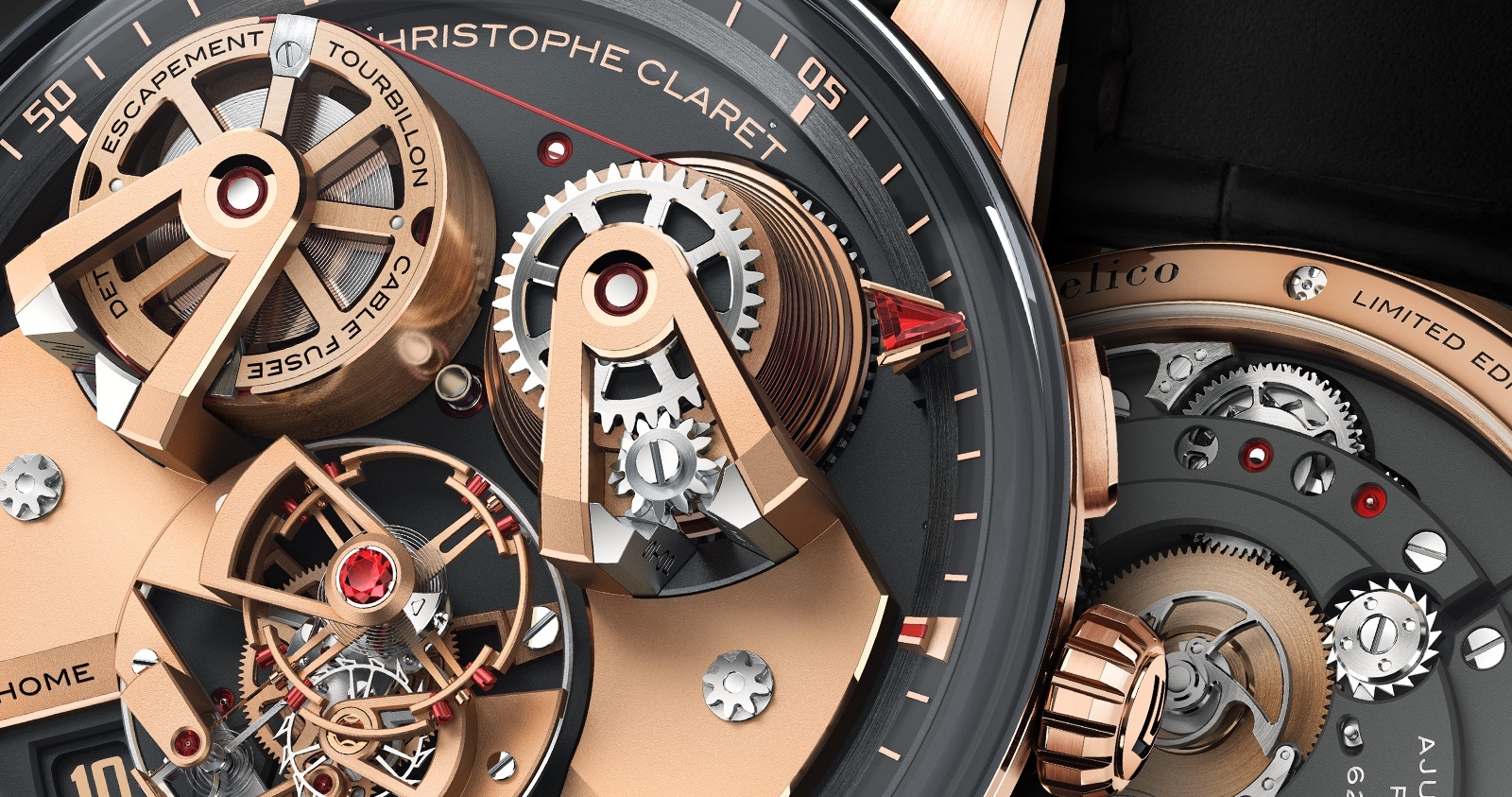 Christophe Claret Angelico SIHH 2019 Detail 2