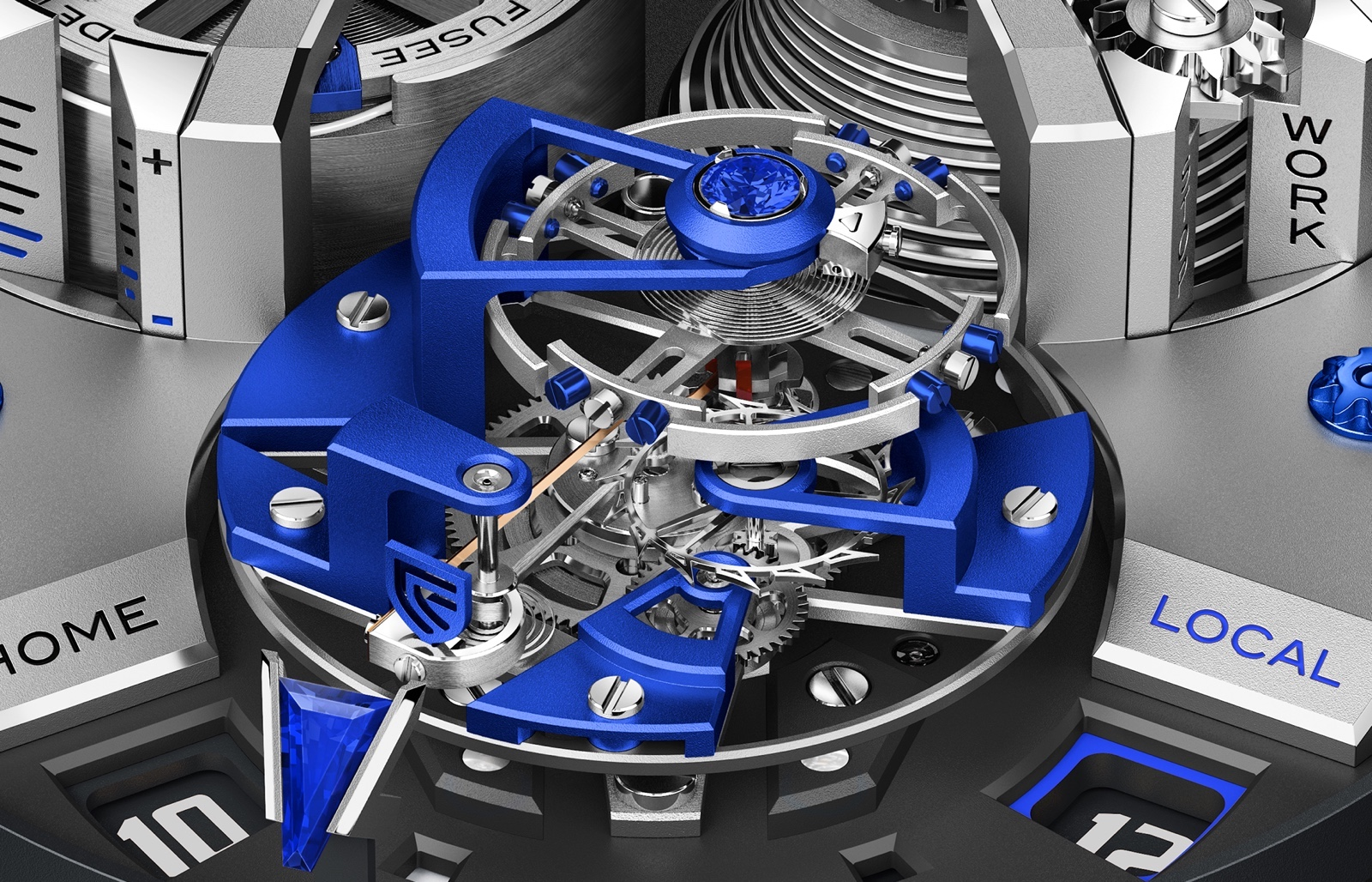 Christophe Claret Angelico SIHH 2019 Movement detail 2