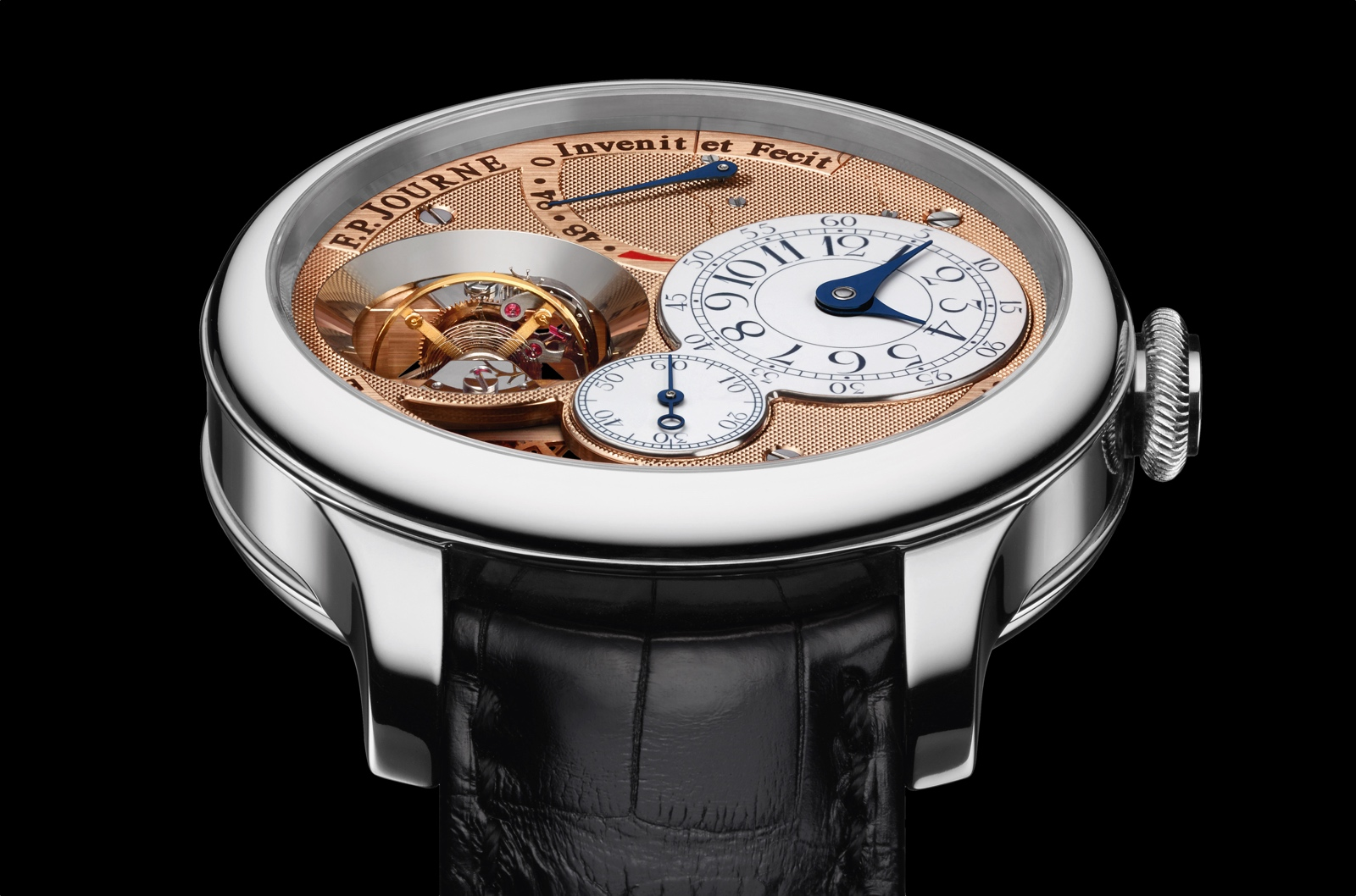 F.P. Journe Tourbillon Souverain Vertical - Platinum