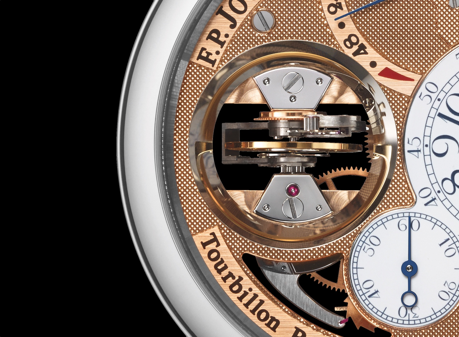 F.P. Journe Tourbillon Souverain Vertical - Tourbillon