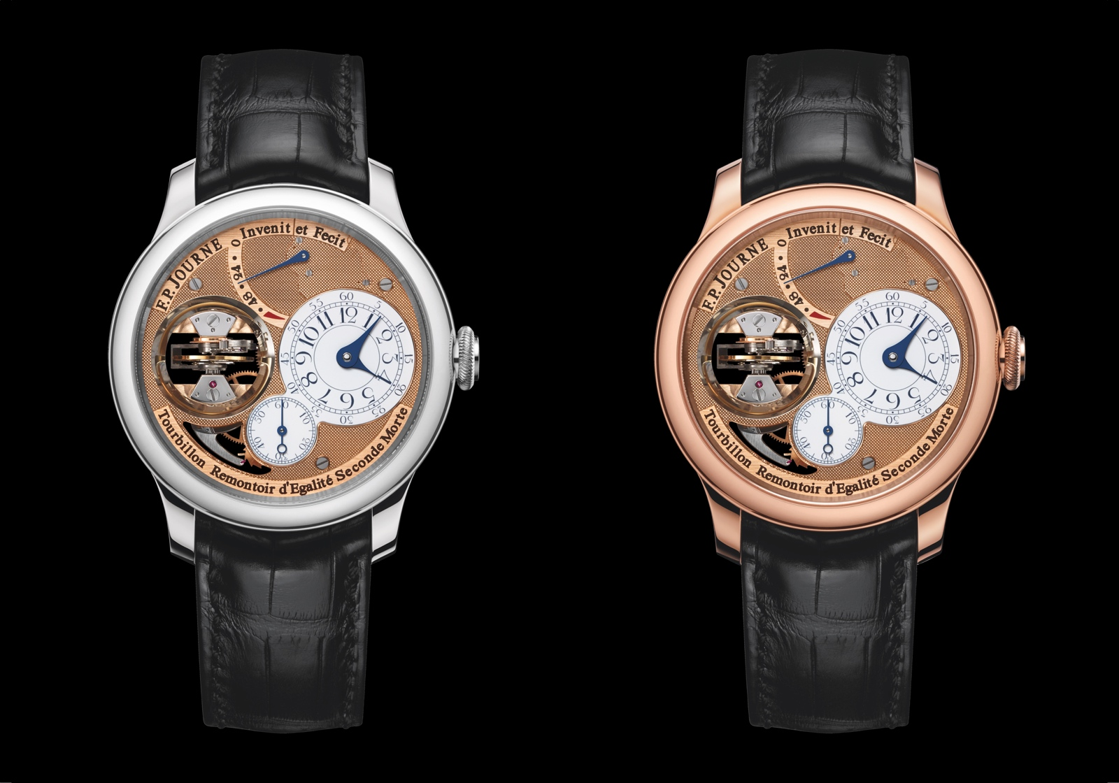 F.P. Journe Tourbillon Souverain Vertical - duo black
