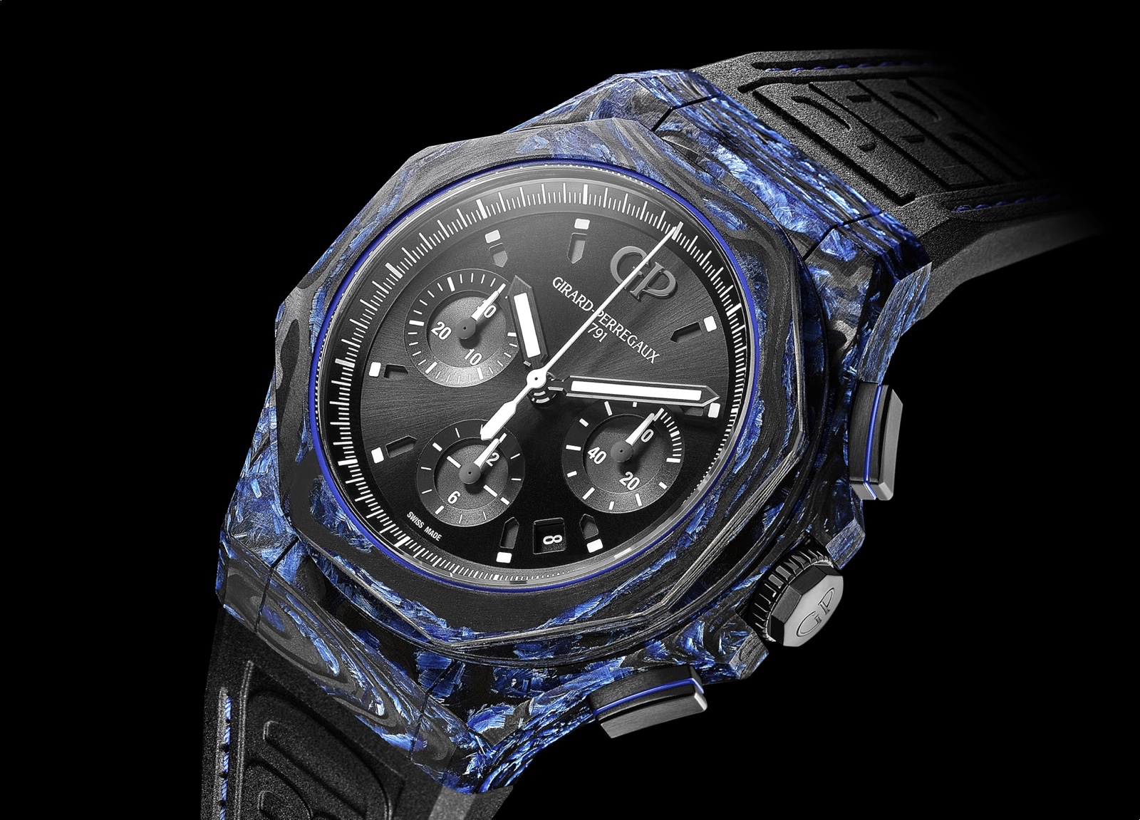 Girard-Perregaux SIHH 2019 Laureato Absolute Carbon Glass