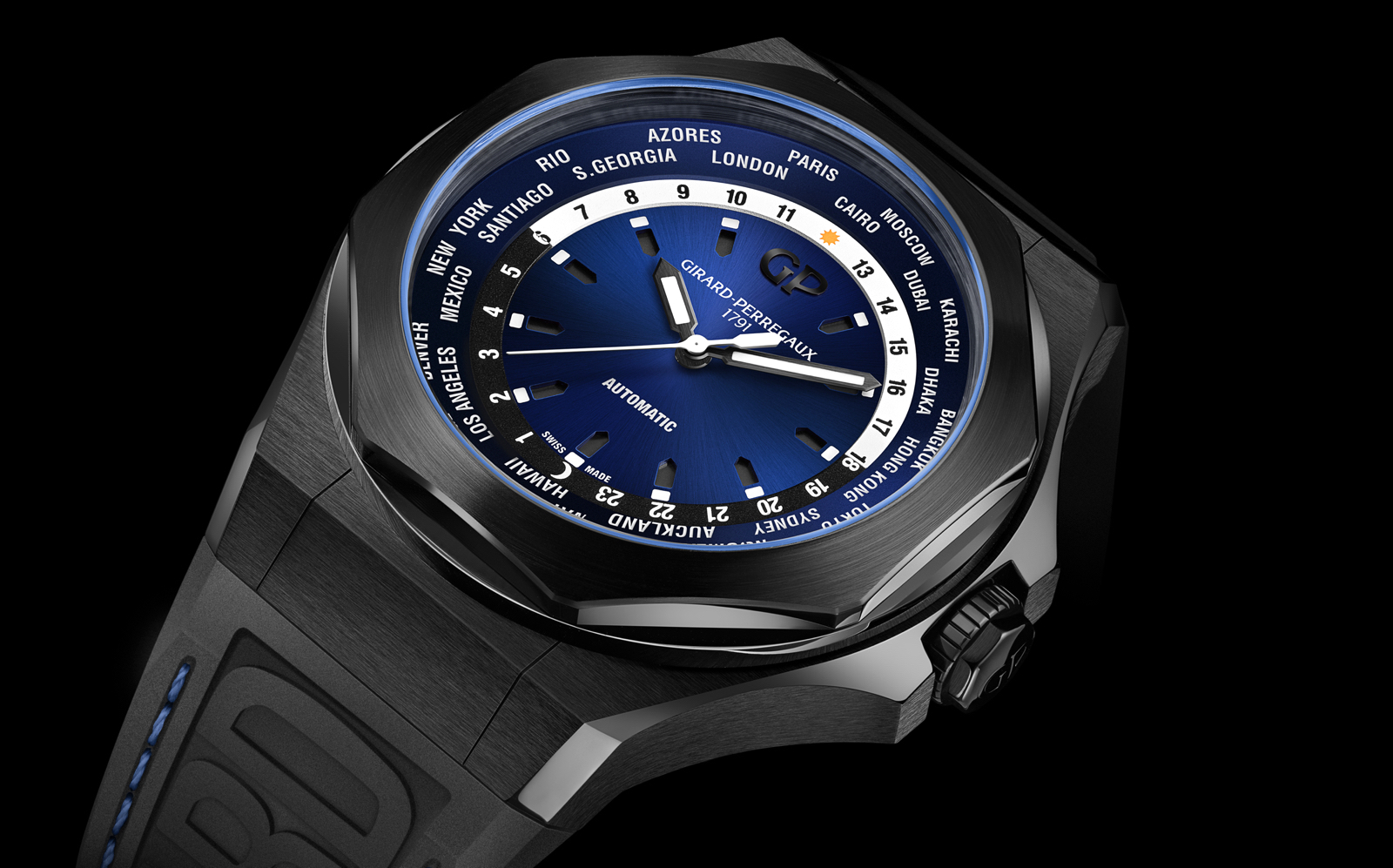Girard-Perregaux SIHH 2019 Laureato Absolute ww.tc