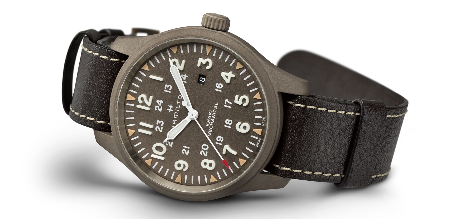 Hamilton Field Mechanical Mm Watch 50 Khaki Edición Test Limitada ⋆ tChsQrdx