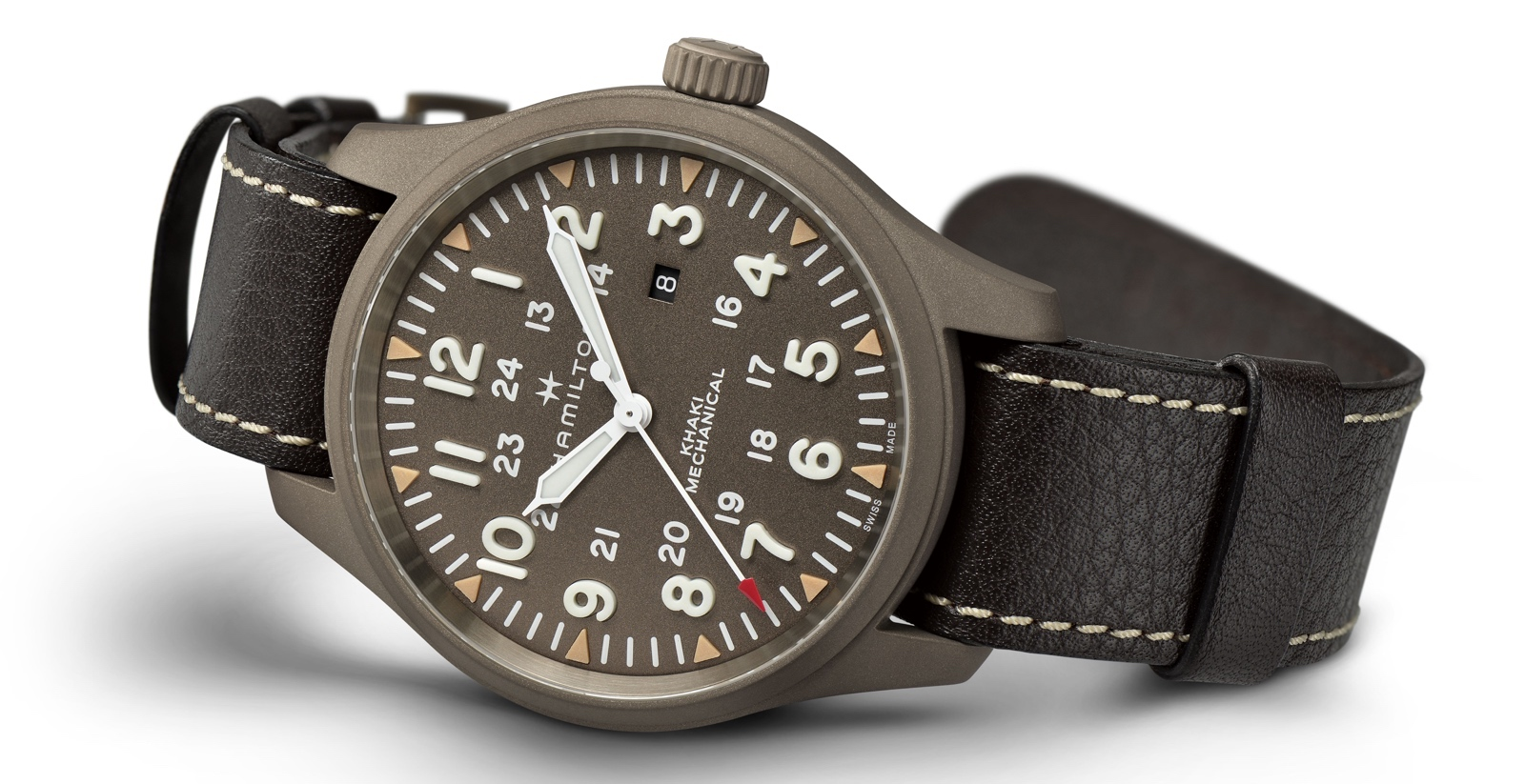 Hamilton Khaki Field Mechanical LE Earth