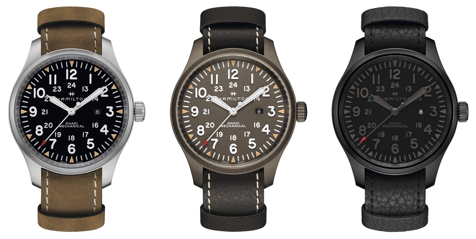 Hamilton Khaki Field Mechanical LE Modelos