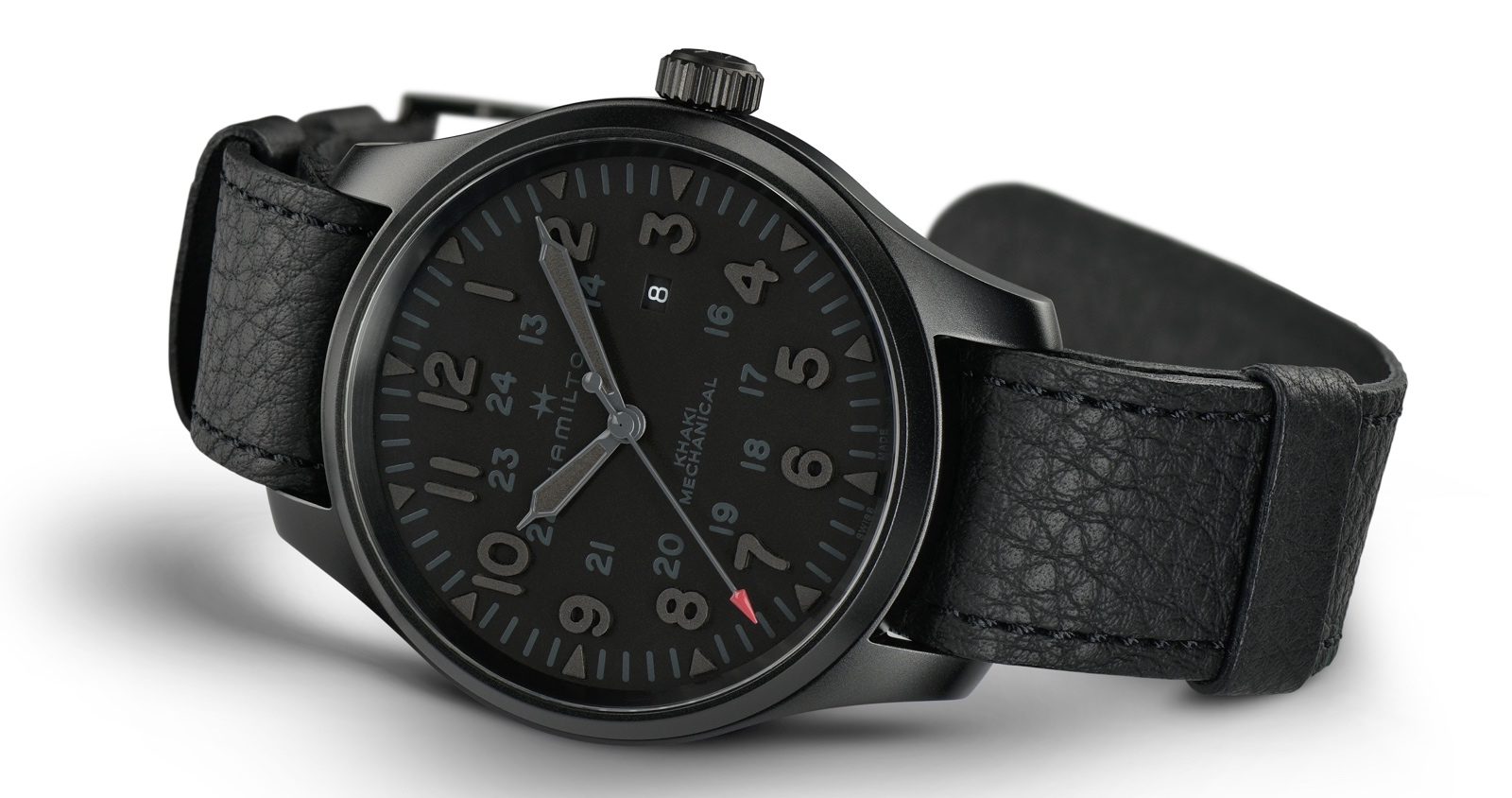 Hamilton Khaki Field Mechanical LE Stealth