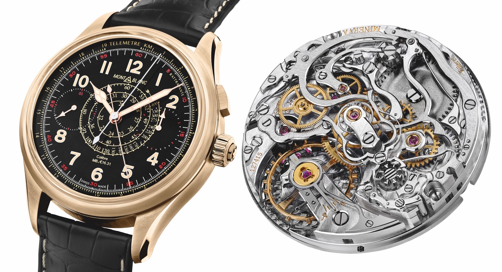 Montblanc 1858 Split Seconds Chronograph SIHH 2019 Modelos