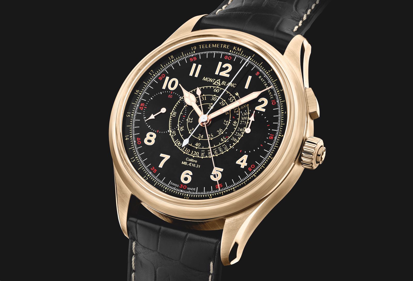 Montblanc 1858 Split Seconds Chronograph SIHH 2019