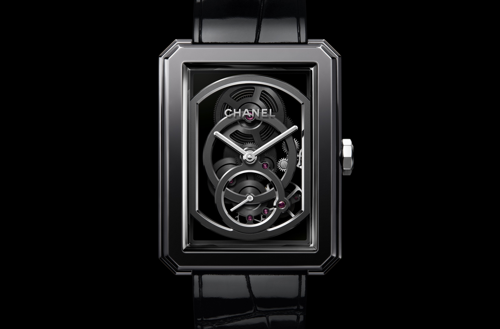 Pre-Baselworld 2019 de Chanel - Boy·Friend Squelette Edition Noire