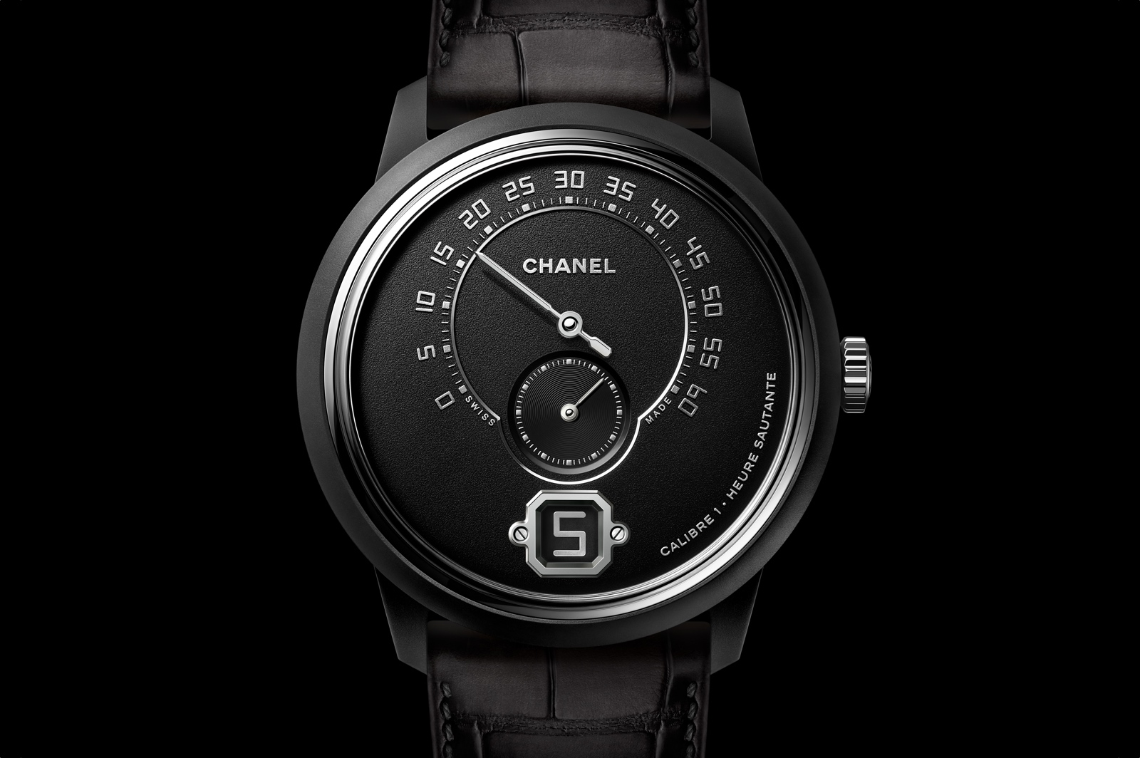 Pre-Baselworld 2019 de Chanel - Monsieur de Chanel Edition Noire