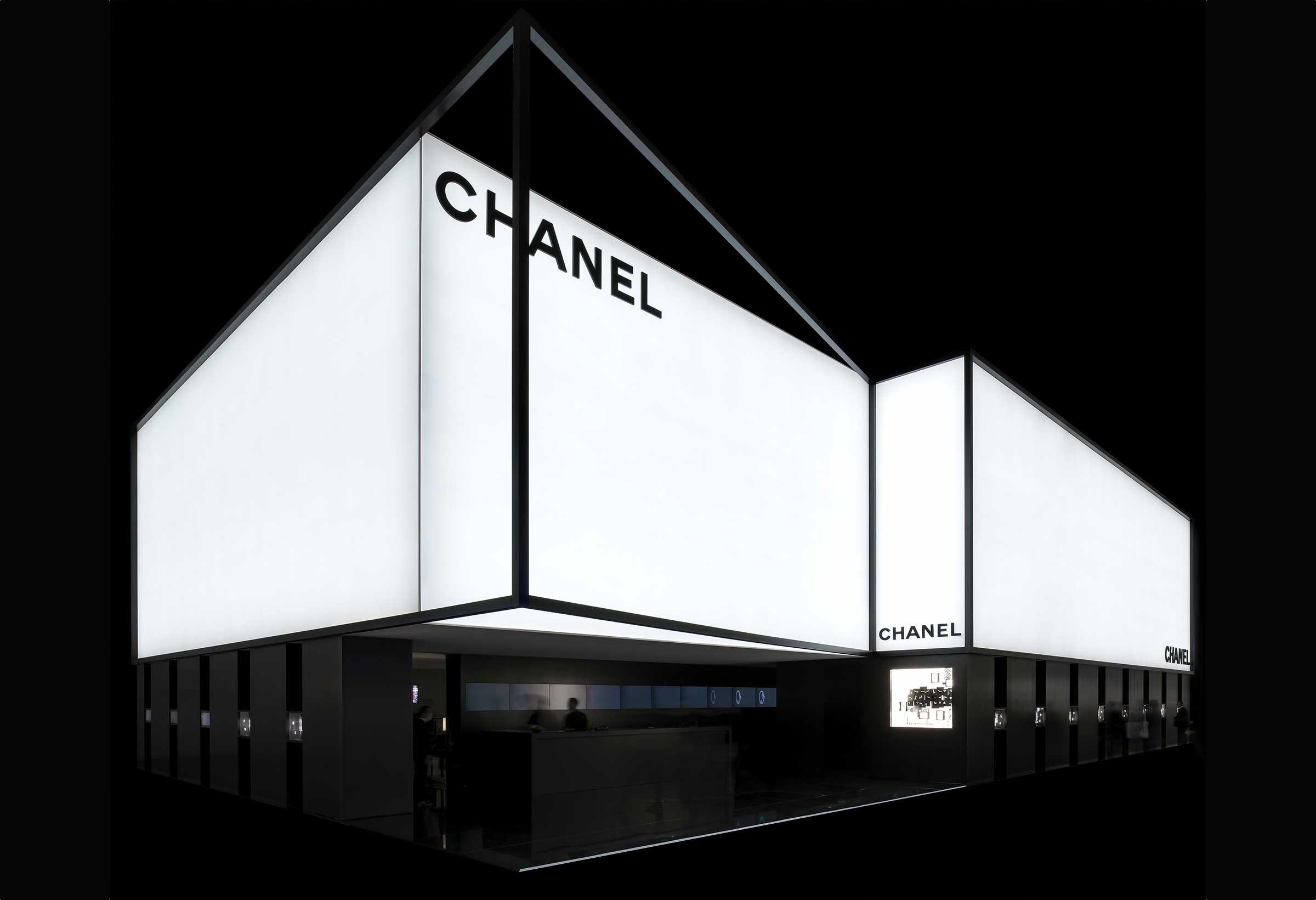 Pre-Baselworld 2019 de Chanel - stand Chanel