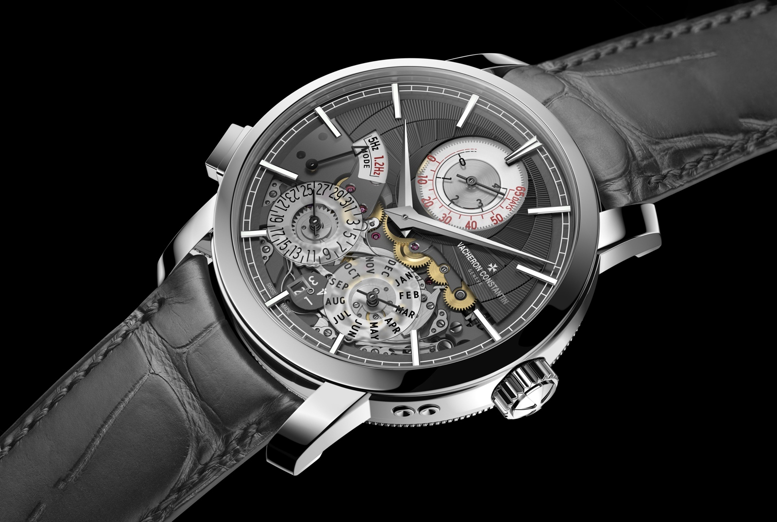 Vacheron Constantin Traditionnelle Twin Beat Perpetual Calendar - case