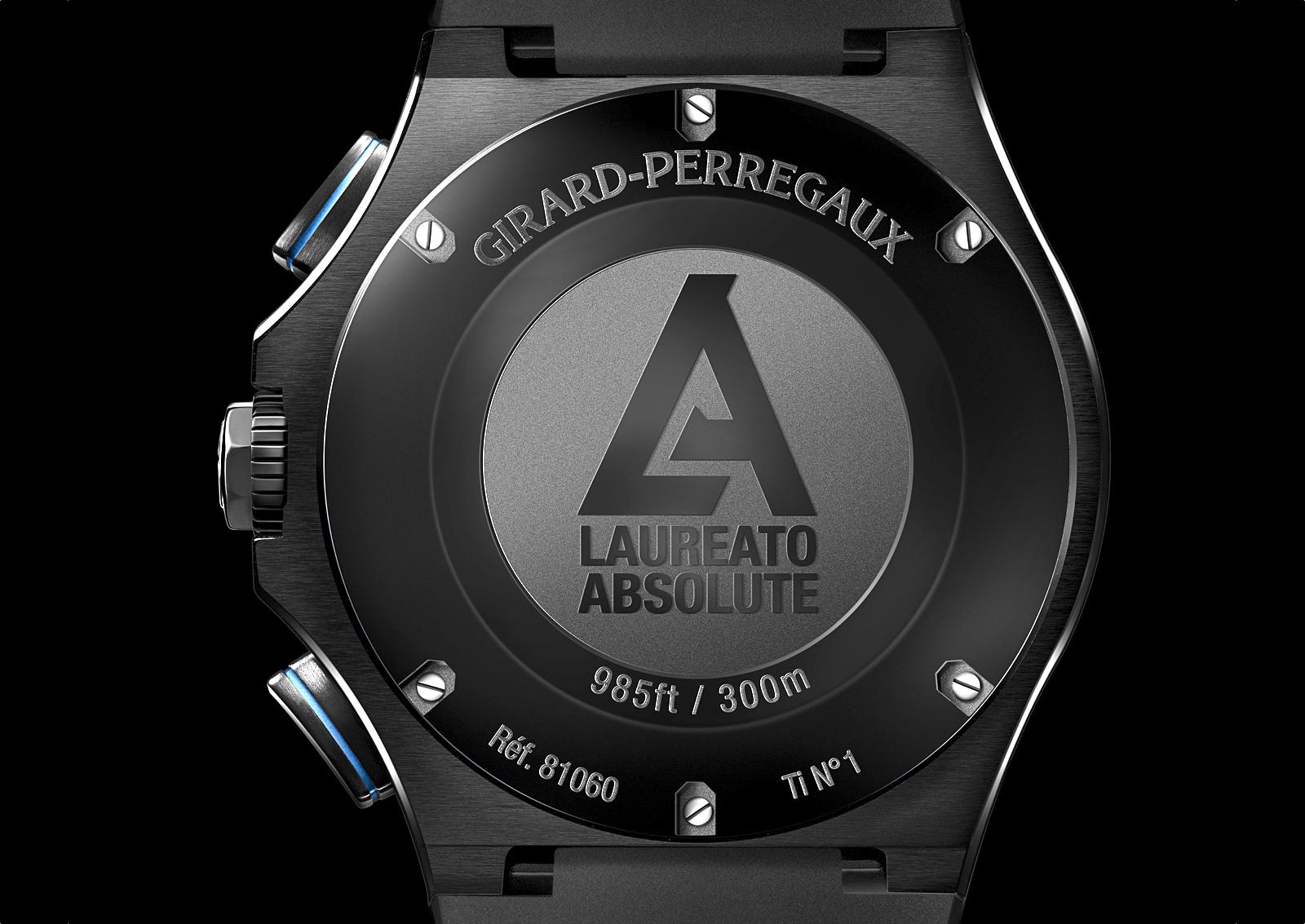 Girard-Perregaux Laureato Absolute Chronograph Caseback