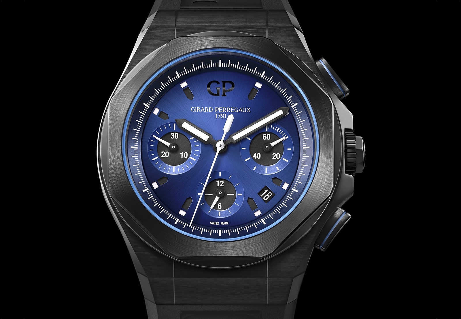 Girard-Perregaux Laureato Absolute Chronograph Front