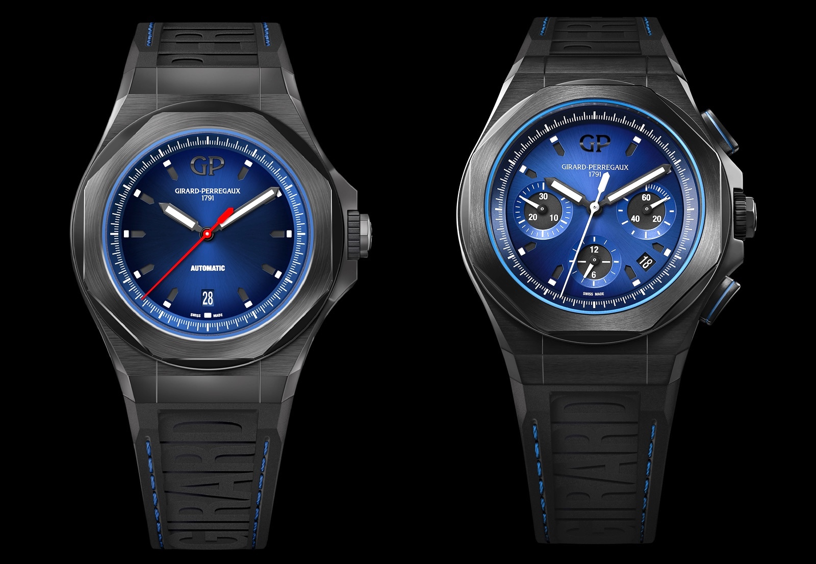 Girard-Perregaux Laureato Absolute Chronograph vs Automatic
