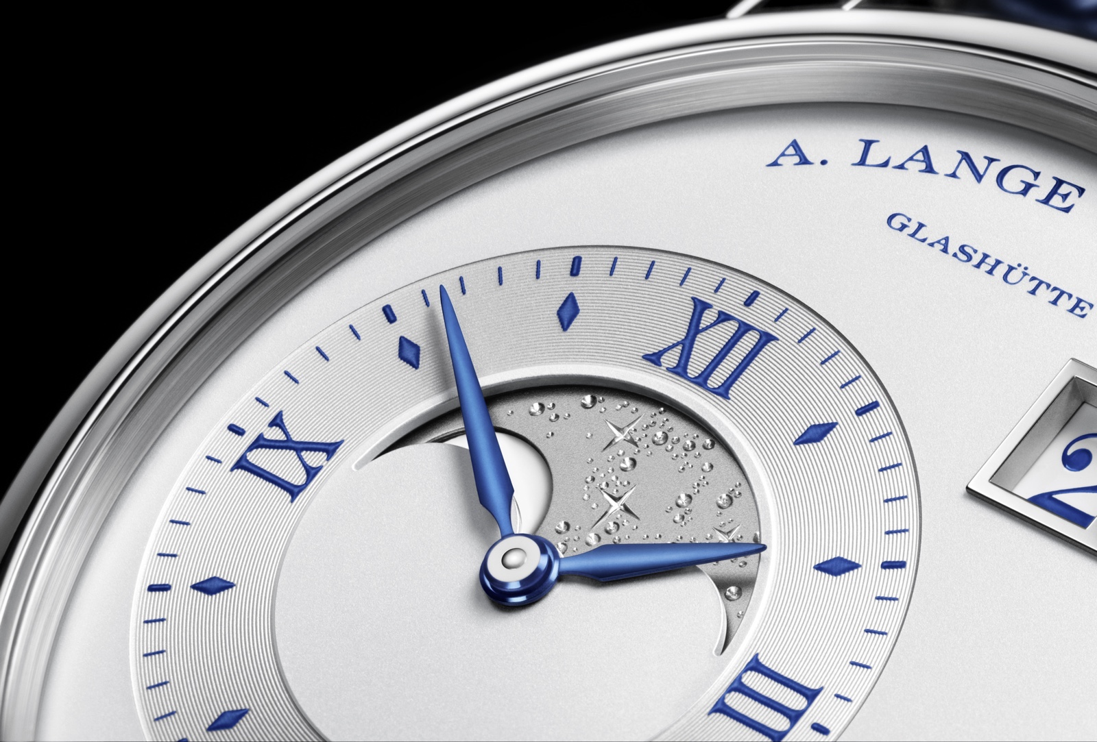 Grand Lange 1 Moon Phase 25 Anniversary Detail