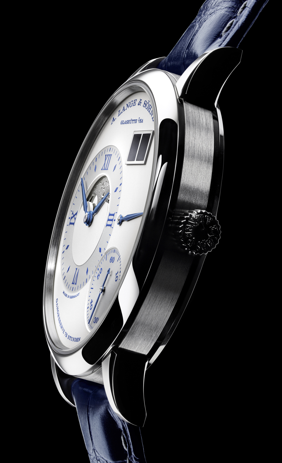 Grand Lange 1 Moon Phase 25 Anniversary Profile