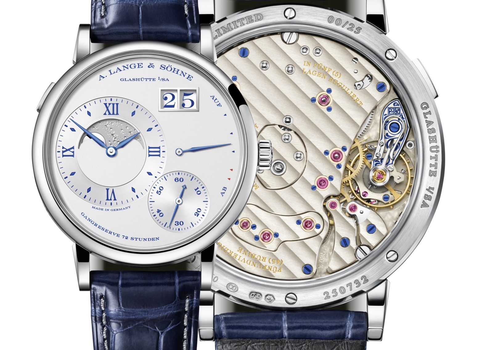 Grand Lange 1 Moon Phase 25 Anniversary