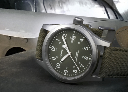 "Hamilton Khaki Field Mechanical ""Pearl Harbor"""