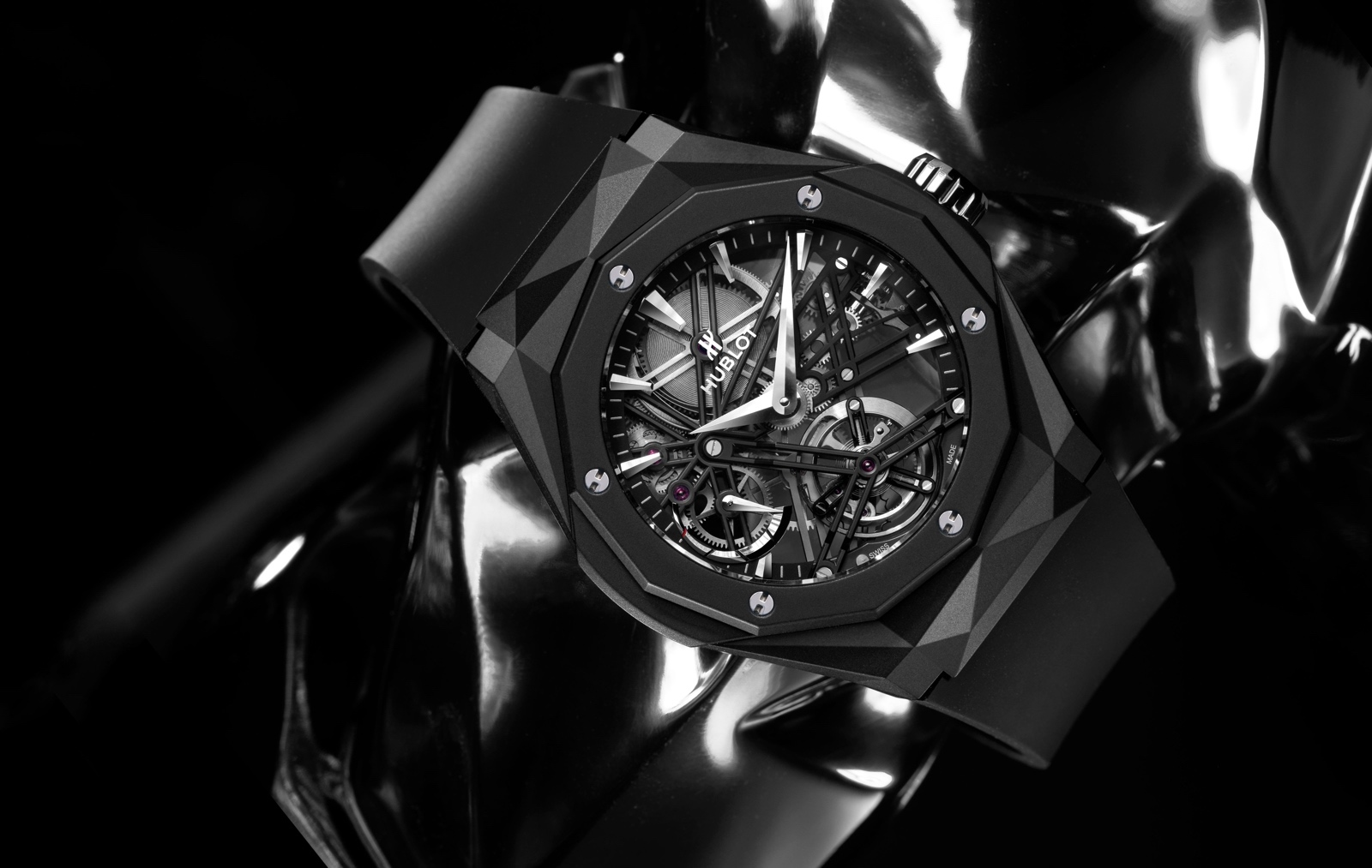 Hublot Classic Fusion Tourbillon Orlinski - Black Magic