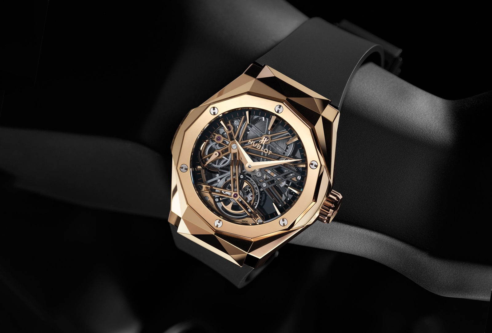 Hublot Classic Fusion Tourbillon Orlinski - King Gold