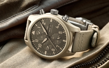 IWC Top Gun Chronograph Edition Mojave Desert Cover