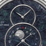 Jaquet Droz Grande Seconde Moon Swiss Serpentinite