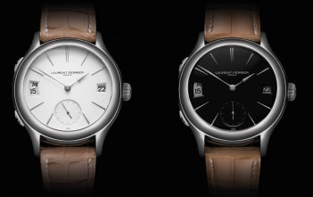 Laurent Ferrier y las esferas Opaline Black & White