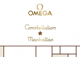 "Omega Constellation ""Manhattan""."