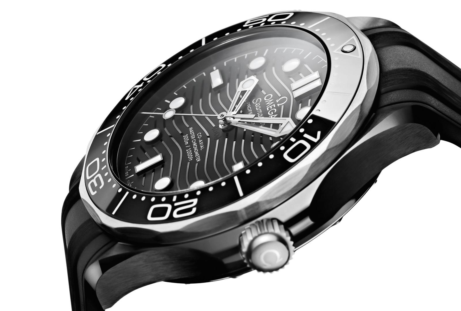 Omega Seamaster Diver 300M Cerámica Negra Titanio Profile