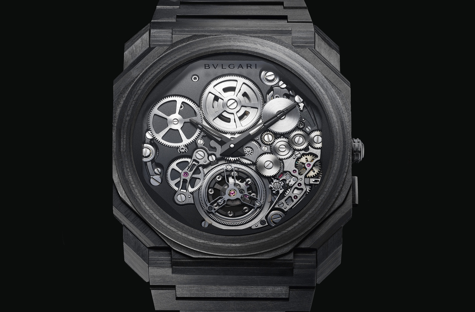 Pre-Baselworld 2019 de Bulgari - Octo FInissimo Tourbillon Carbon
