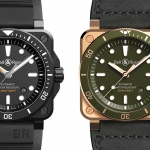 Bell & Ross BR 03-92 Diver Black Matte y Green Bronze
