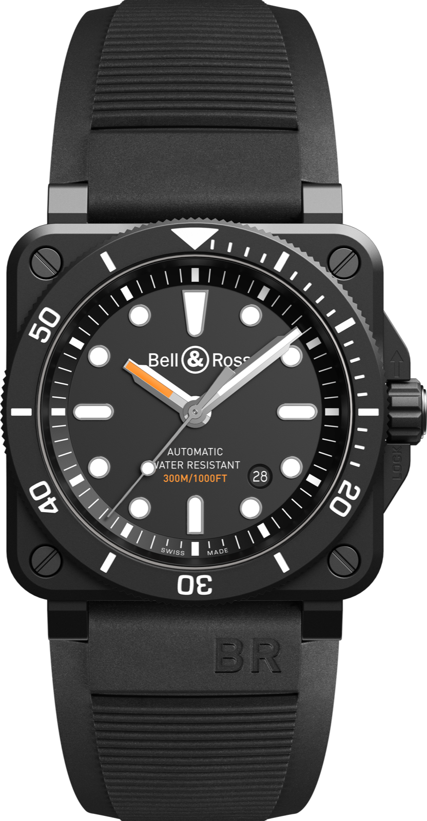 Bell & Ross BR03-92-Diver-Ceramic Black Matte