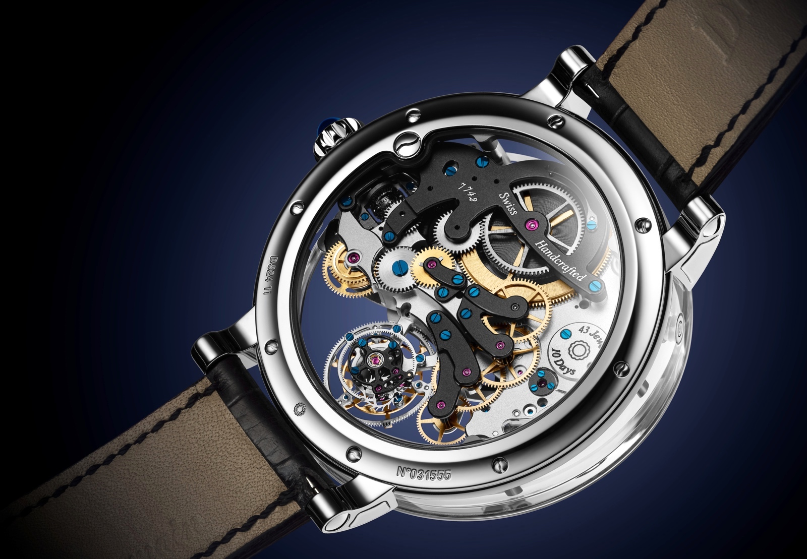 Bovet Récital 26 Brainstorm Chapter One Caseback