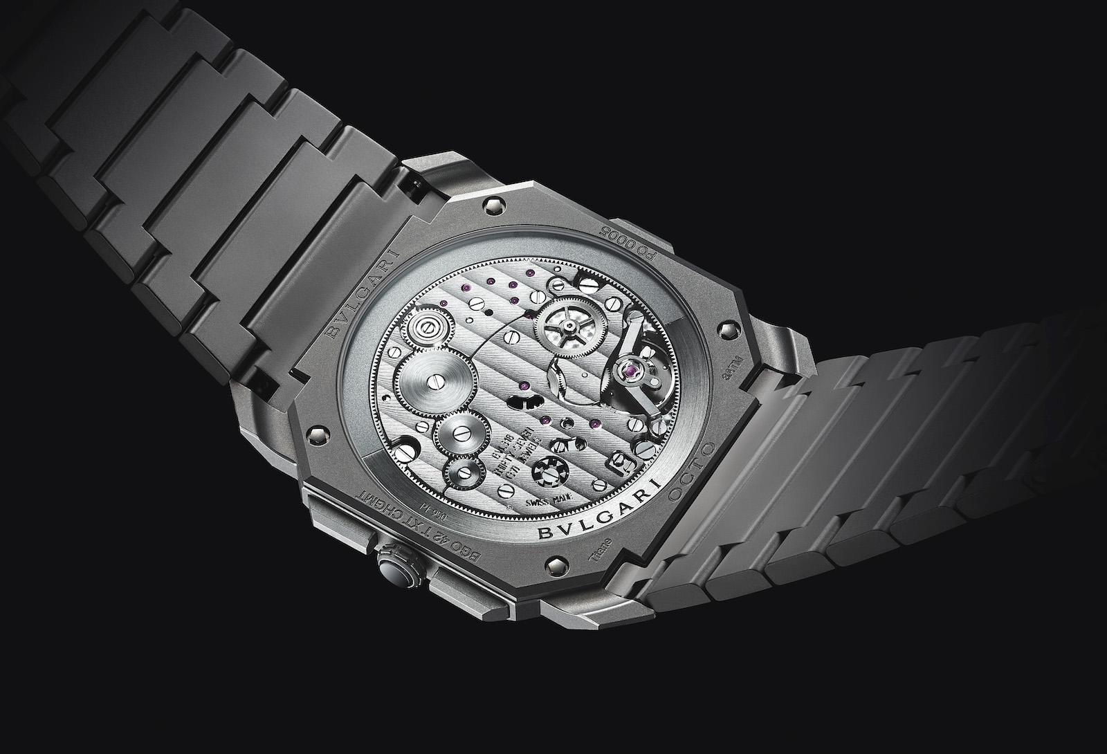 Bulgari en Baselworld 2019 - Octo Finissimo Chronograph calibre