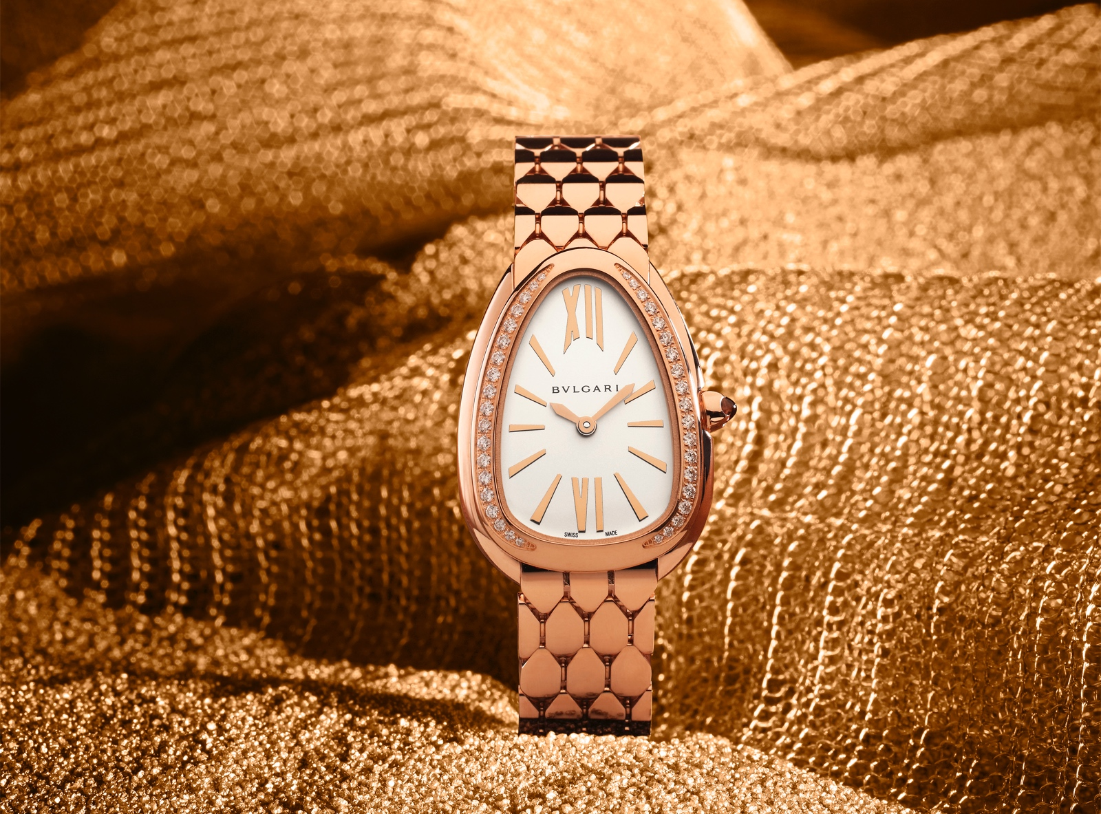 Bulgari en Baselworld 2019 - Serpenti Seduttori rose gold diamonds