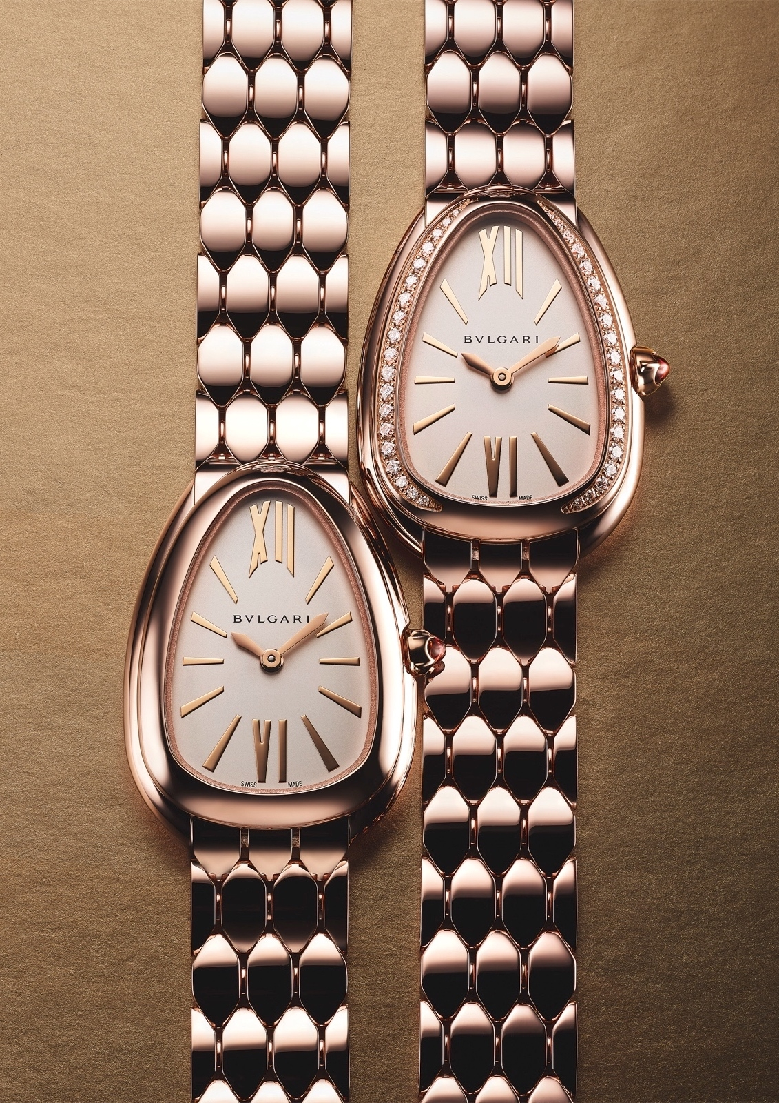 Bulgari en Baselworld 2019 - Serpenti Seduttori rose gold duo