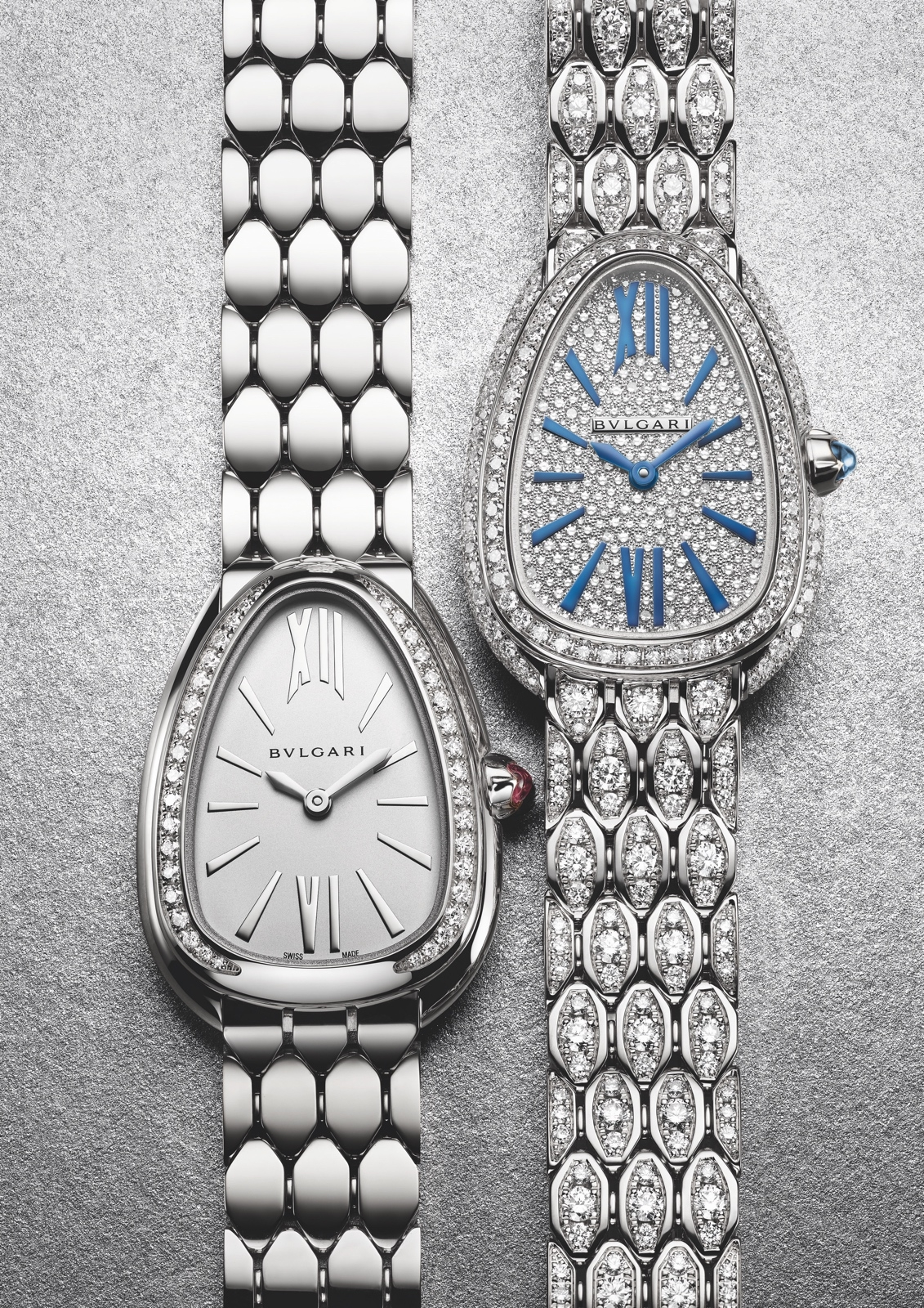 Bulgari en Baselworld 2019 - Serpenti Seduttori white gold duo