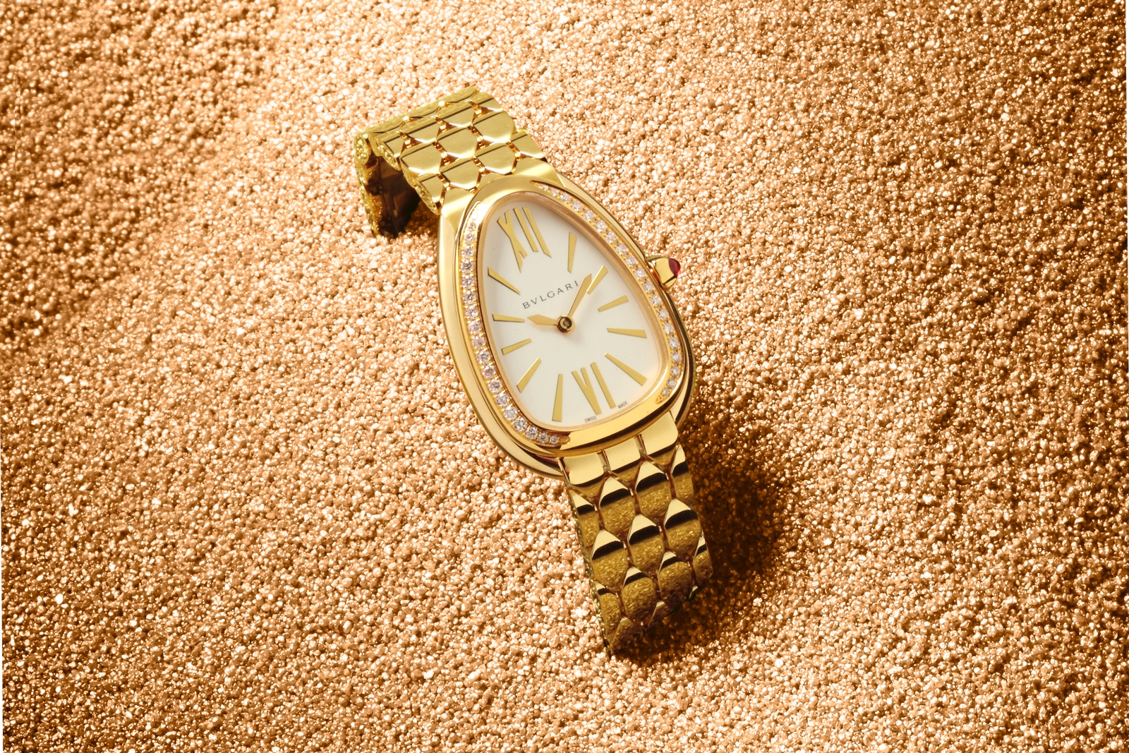 Bulgari en Baselworld 2019 - Serpenti Seduttori yellow gold diamonds