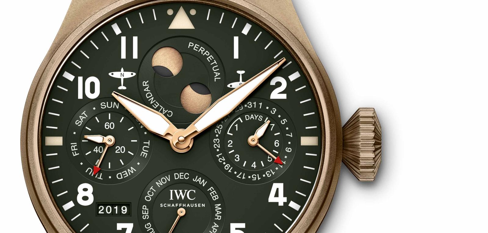 IWC Big Pilot's Watch Perpetual Calendar Spitfire.