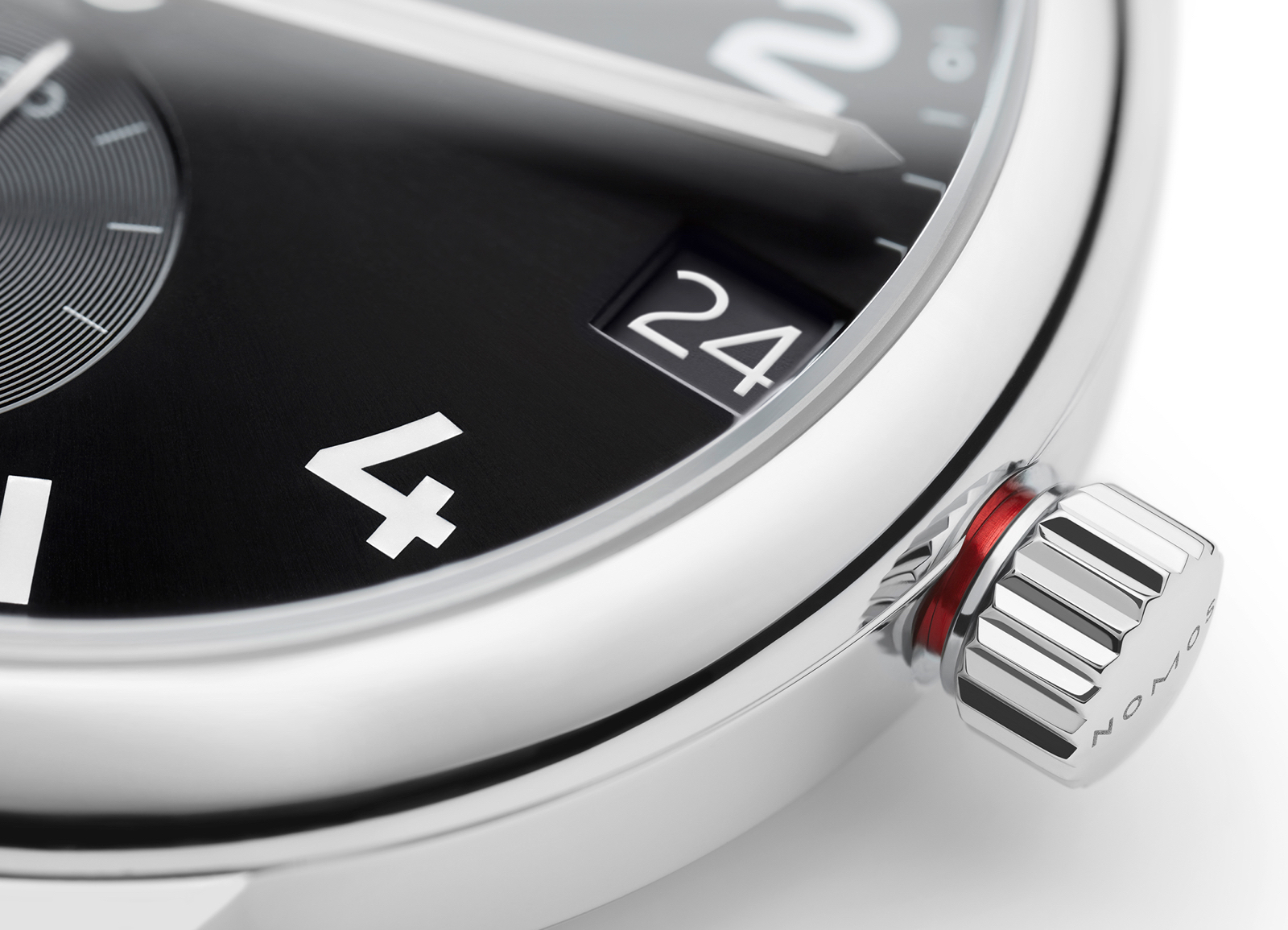 NOMOS Club Sport Crown Detail