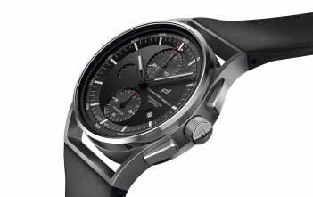Porsche Design 1919 Chronotimer Flyback Black Leather