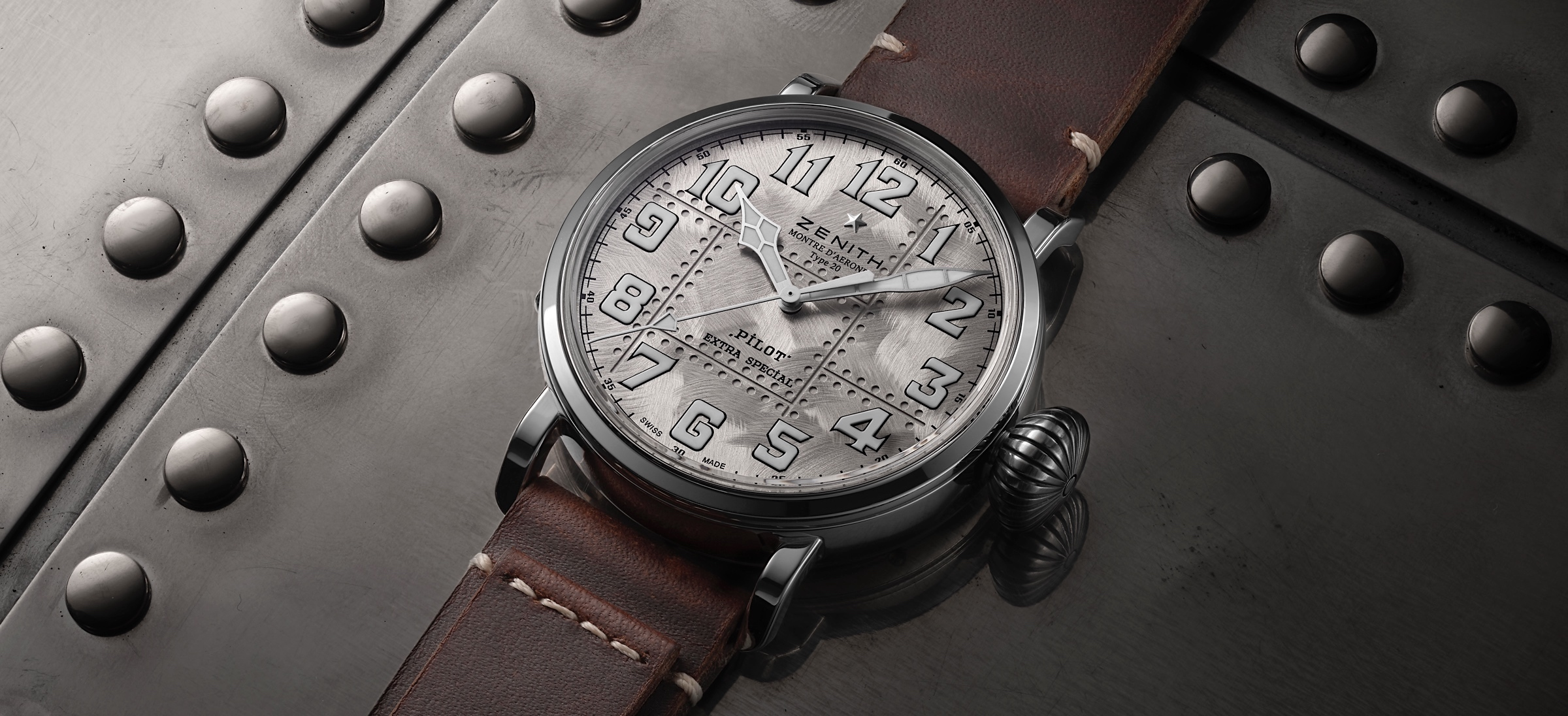Zenith Pilot Type 20 Extra Special Silver - cover