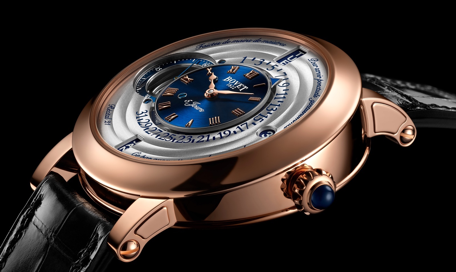 Bovet 1822 Récital 21 Collection SIHH 2019