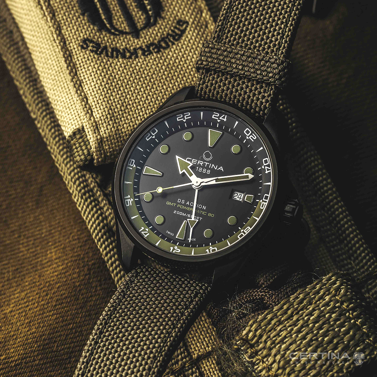 Certina DS Action GMT 1